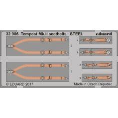 Tempest Mk.Ii Seatbelts Steel 1/32