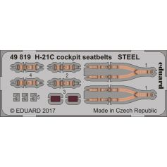 H-21c Cockpit Seatbelts Steel 1/48