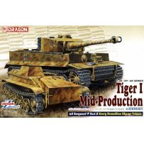 DRAGON 6866 TIGER I MILIEU PRODUCTION + BORGWARD A 1/35
