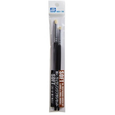 GUNZE MB31 PINCEAU MR. WEATHERING BRUSH SET SOFT