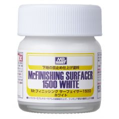 GUNZE SF291 MR. FNISHING SURFACER 1500 WHITE 40ML