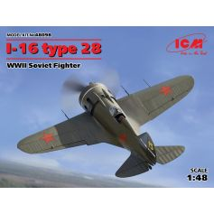 Avion De Combat Sovietique I-16 Typ 28 1/48