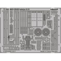 Mig-29ub Izdelye 9.51 1/72