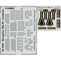 Mosquito Mk.Iv Seatbelts Fabric 1/32