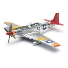 NEWRAY 20235 P-51 MUSTANG TUSKEGEE RAID TAILS MODEL KIT 1/48