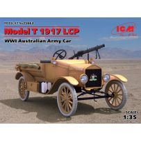 ICM 35663 FORD MODEL T 1917 LCP WWI AUSTRALIAN ARMY CAR 1/35 (05/17)