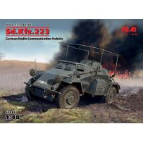 ICM 48192 SD.KFZ.223 VEHICULE ALLEMAND DE RADIO COMMUNICATION 1/48 (05/17)