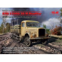 Camion Wwii Khd S3000/Ss M Maultier 1/35