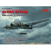 BOMBARDIER LANCE TORPILLE JU 88A-4 /TORP WWII 1/48