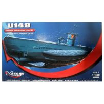 MIRAGE HOBBY 400206 GERMAN U-BOOT U-149 TYPE IID 1/400