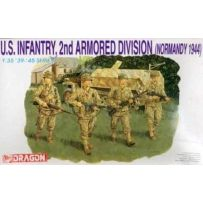 U.S. INFANTRY 2ND ARMORED DIVISION NORMANDY 1944 1/35