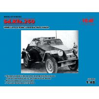 SD.KFZ.260 GERMAN RADIO COMMUNICATION VEHICLE 1/48 (08/17)