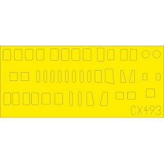 H8k2 Emily Fuselage Windows 1/72