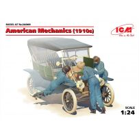 3 MECANICIENNES AMERICAINES 1910 FORD MODEL T 1/24