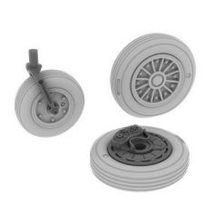 A-4e Wheels Early 1/48