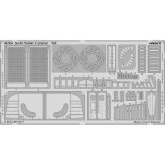 Su-35 Flanker E Exterior 1/48