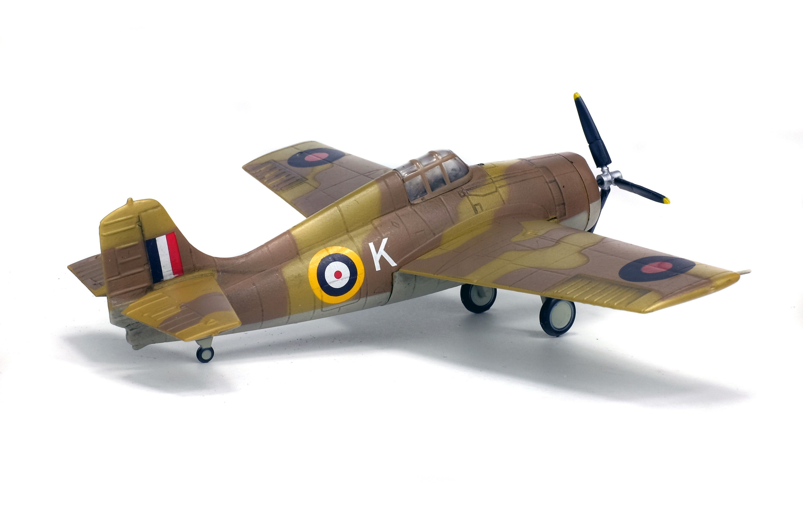 1//72 Solido Grumann F4F Wildcat-Afrique du Nord 1942-7200004