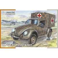 VW TYP 83 KASTENWAGEN 1/35
