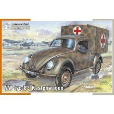 Vw Type 83 Kastenwagen 1/35